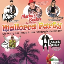 Mallorca Party - Die Party der Playa in der Nordseehalle Emden