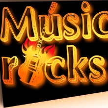 Bild: Music rocks!