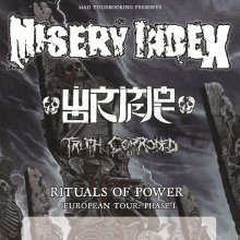 Misery Index - Rituals Of Power European Tour: Phase 1