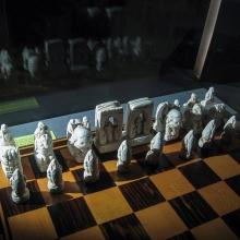 Nachts im Schachmuseum