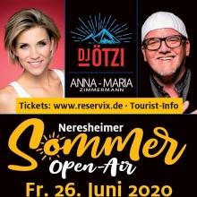 Sommer-Open-Air mit DJ Ötzi & Anna-Maria Zimmermann