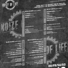 Noize Of Life 2k19 - Tagesticket • Fr. 25.10.2019