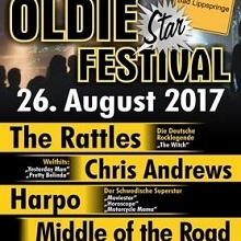 Oldie Star Festival 2017 - The Rattles, Harpo, Middle of the Road und Chris Andrews in Bad Lippspringe, 26.08.2017 - Tickets -