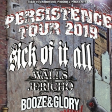 Persistence Tour 2019