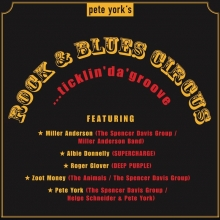 "Pete York's ""ROCK & BLUES CIRCUS"" - mit  ALBIE DONNELLY - MILLER ANDERSON - ROGER GLOVER - ZOOT MONEY- PETE YORK-"