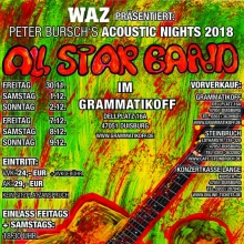 Bild: Peter Burschs All Star Band - Acoustic Nights