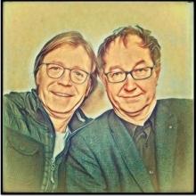 Peter Kube und Jürgen Haase