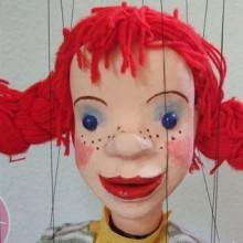 PIPPI LANGSTRUMPF - Figurentheater für Kinder ab 3 Jahren