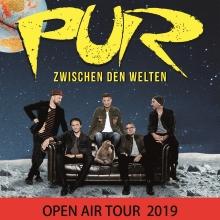 PUR - Zwischen den Welten Open-Air Tournee 2019 in Schwetzingen, 31.07.2019 - Tickets -