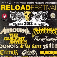Bild: Reload Festival 2013 - Airbourne, The Gaslight Anthem, Hatebreed u.v.a.