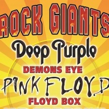 Rock Giants - Tribute to Deep Purple, Pink Floyd, Led Zeppelin