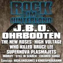 Rock im Hinterland 2017 in Obrigheim (Pfalz), 25.08.2017 - Tickets -