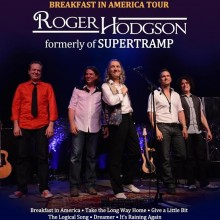 Roger Hodgson – formerly of Supertramp - mit Band