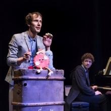 Schlinkepütz - Eine Monsteroper | ab 4 J. - Erzähltheater mit Musik nach dem Buch von Susan Kreller in Fürth, 25.02.2018 - Tickets -