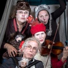 Schöne wilde Winternacht - Dorftheater Siemitz