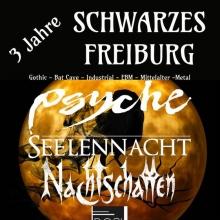 3 Jahre Schwarzes Freiburg - Die Gothic Party in Freiburg