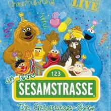 a38da89676 Sesamstrasse - Die Geburtstagsshow - 40 Jahre Sesamstrasse Tickets ...