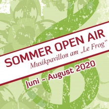 Bild: Sommer Open Air am Le Frog - Theater Grüne Zitadelle