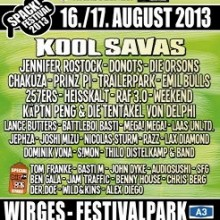 Spack! Festival 2013 - Kool Savas, Jennifer Rostock, Donots, Die Orsons, Chakuza, Prinz Pi u.a.