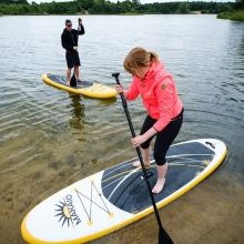 Bild: Stand-up Paddling - Bad Bevensen