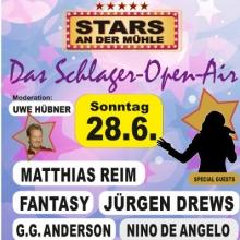 Stars an der Mühle - Das Schlager Open Air