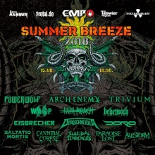 SUMMER BREEZE 2018 - Festivalticket in Dinkelsbühl, 15.08.2018 - Tickets -
