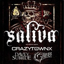 SALIVA - Crazy Town | Davey Suicide | Griever