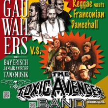 Bild: The Gauwailers vs. The Toxic Avenger Band