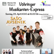 Vöhringer Musikantenexpress - mit Saso Avsenik