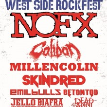 West Side Rockfest 2013 - NOFX, Caliban, Millencolin, Skindred, Emil Bulls, Jello Biafra