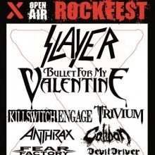 Bild: X Rockfest - Slayer, Bullet For My Valentine, Trivium, Killswitch Engage, Anthrax, Caliban, Fear Factory, DevilDriver u.a.