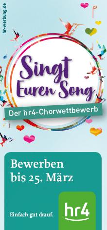 Der hr4-Chorwettbewerb 2019 - Jetzt bewerben!