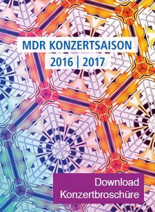 MDR Konzertbroschüre