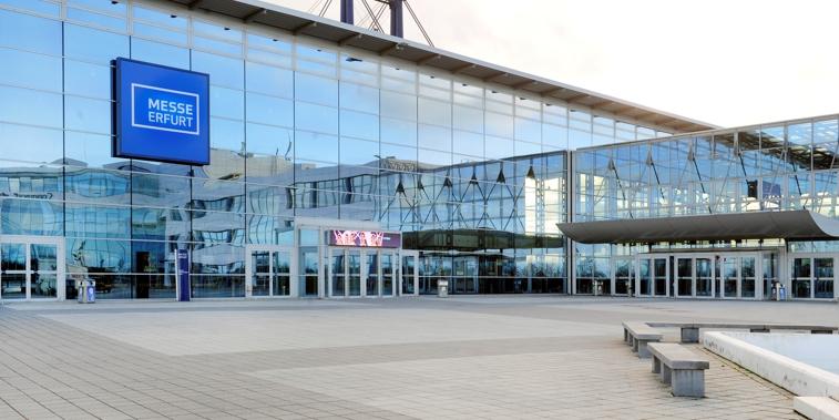 Messehalle Erfurt Kapazität